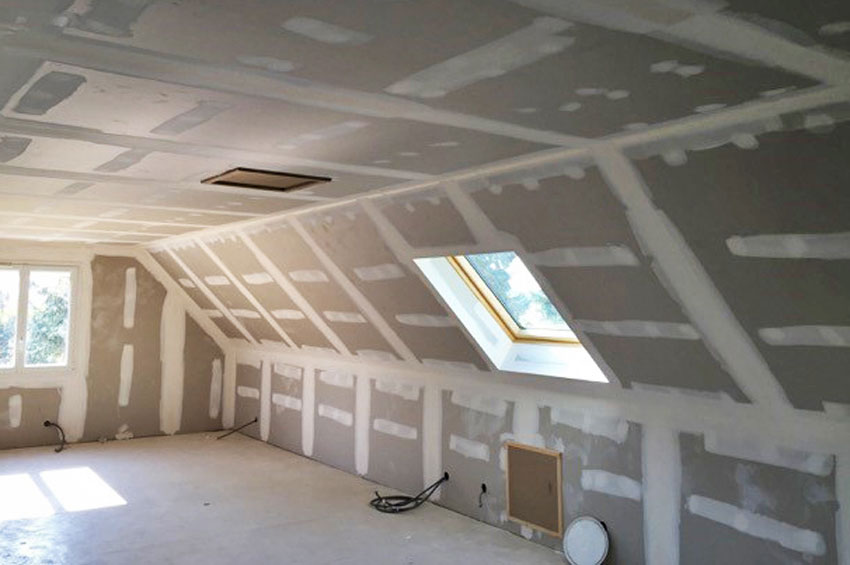 Renovation isolation des combles id e inspirante pour la conception de la maison for Idee d amenagement de combles